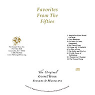 Favorites from The Fifties (CD)